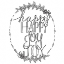 Spellbinders - Stamps - Tammy Tutterow - Happy Happy Joy Joy